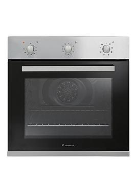 candy-fpe602x-60cm-built-in-multifunction-single-oven-black