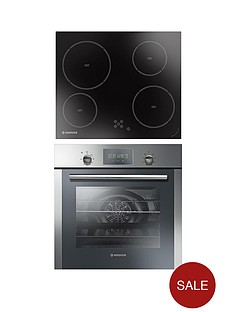hoover-hprecm7-multifunction-single-fan-oven-with-touch-control-led-display-and-60cm-ceramic-hob