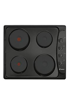 candy-ple64n-60cm-solid-plate-electric-hob-with-4-heat-zones-black