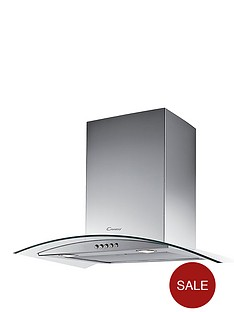 candy-cgm611x-60cm-curved-glass-chimney-hood-stainless-steel
