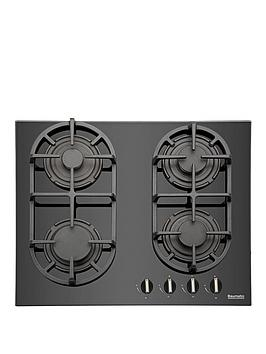 baumatic-bgg60-60-cm-gas-on-glass-hob-black