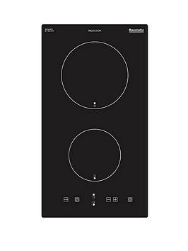 baumatic-bhi300-30-cm-2-induction-zone-domino-hob-black