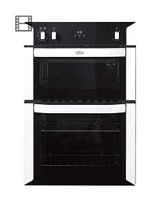 belling-bi90fp-60cm-built-in-double-fan-electric-oven-white