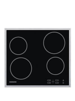 samsung-c61r1aamst-60cm-built-in-electric-hob-with-residual-heat-indicator-black