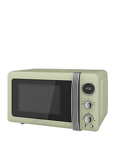 swan-sm22030gn-vintage-20-litre-digital-microwave-green