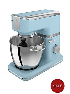 swan-vintage-stand-mixer-blue