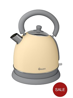 swan-vintage-dome-kettle-cream