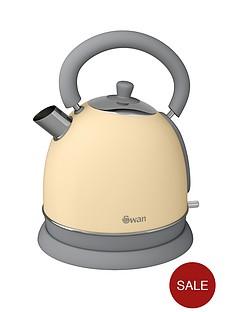 swan-vintage-dome-kettle-cream