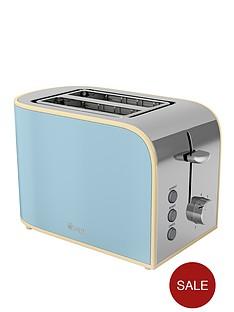swan-vintage-2-slice-toaster-blue
