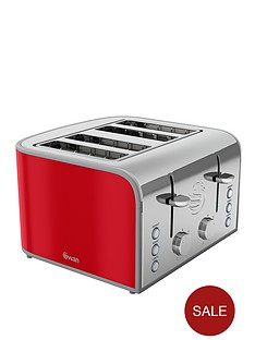 swan-vintage-4-slice-toaster-red