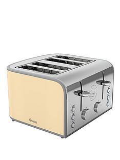 swan-vintage-4-slice-toaster-cream