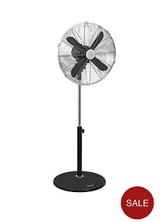 swan-sfa1020-16-inch-retro-stand-fan-black