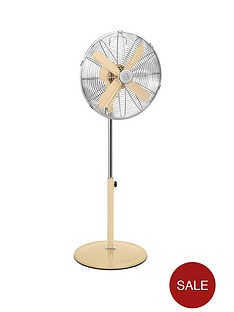 swan-sfa1020-16-inch-retro-stand-fan-cream