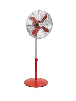 swan-sfa1020-16-inch-retro-stand-fan-red