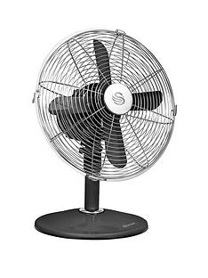 swan-sfa1010-12-inch-retro-desk-fan-black