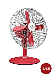 swan-sfa1010-12-inch-retro-desk-fan-red