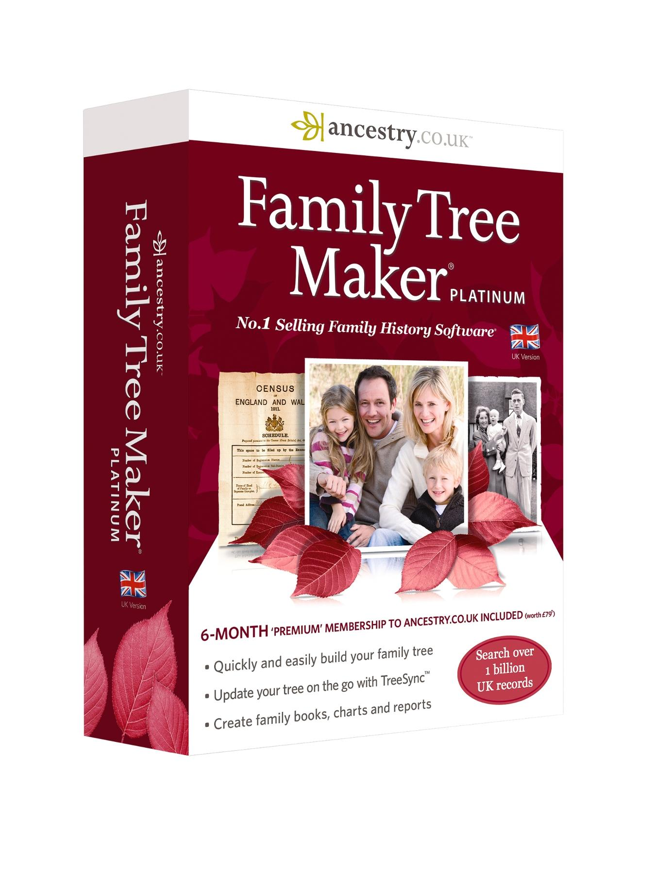 Family Tree Maker 2014 Platinum Edition
