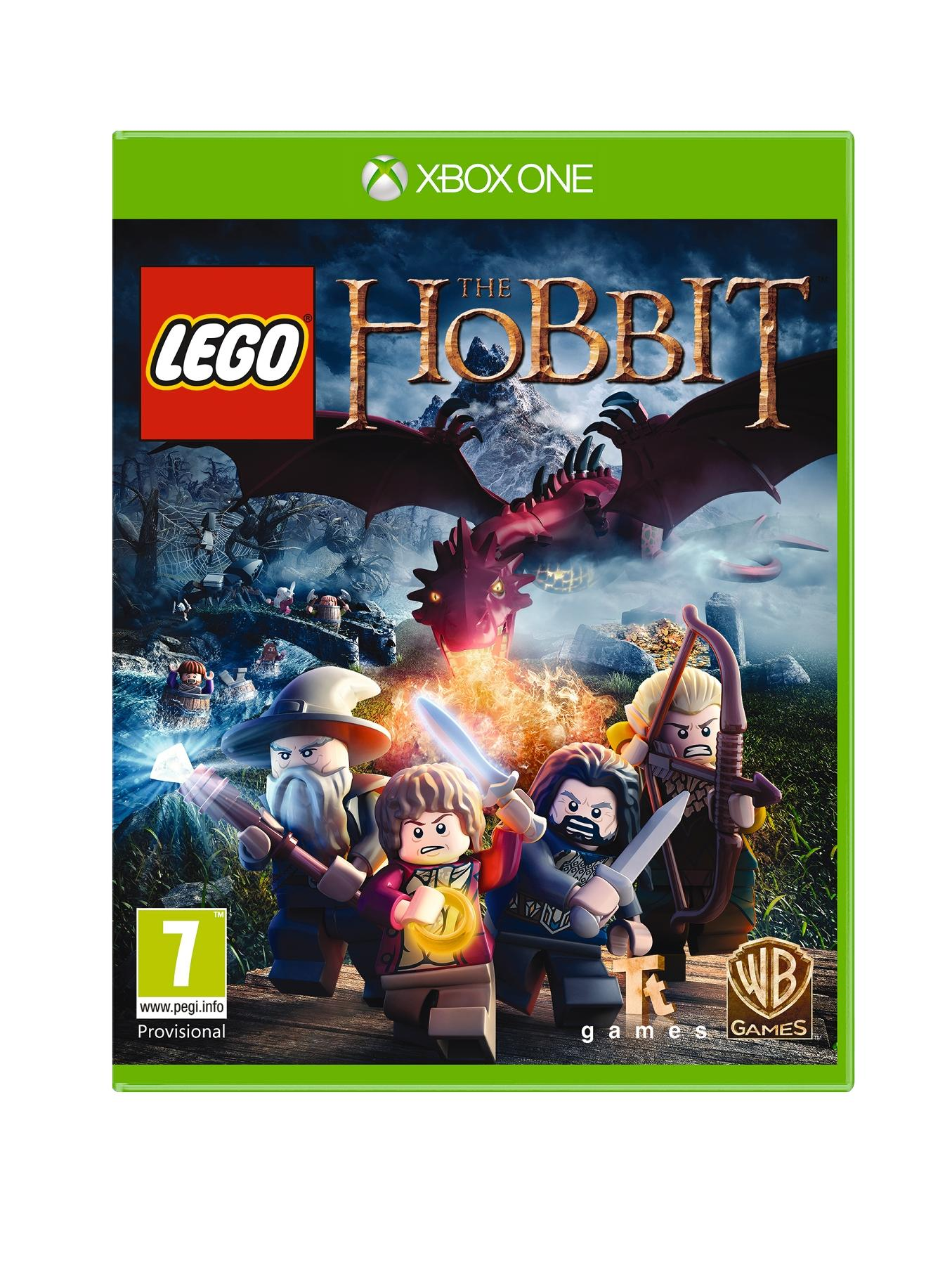 Lego the Hobbit with Optional £50 Cash Card and 3 or 12 Months Xbox Live