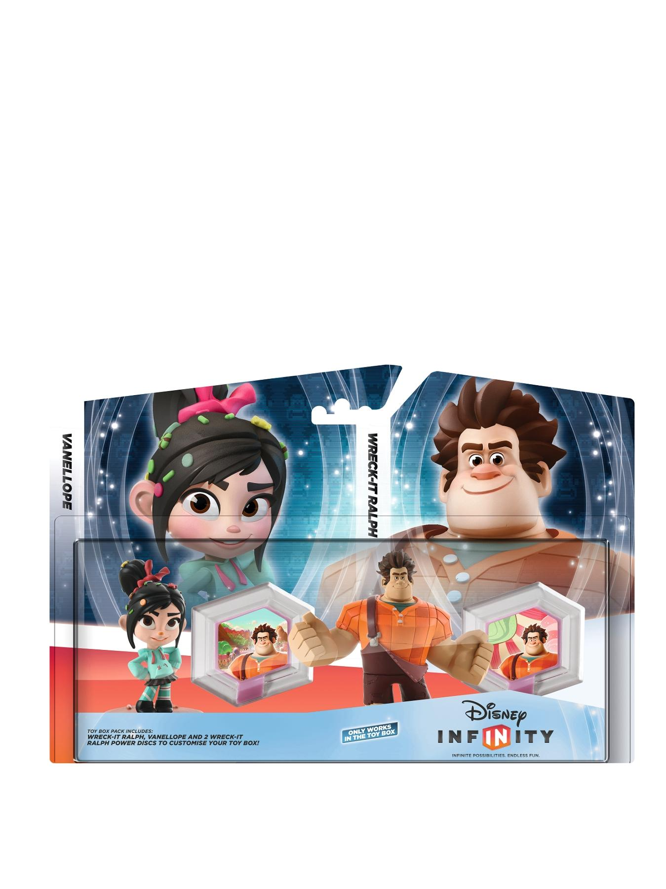 Wreck It Ralph Toy Box Pack