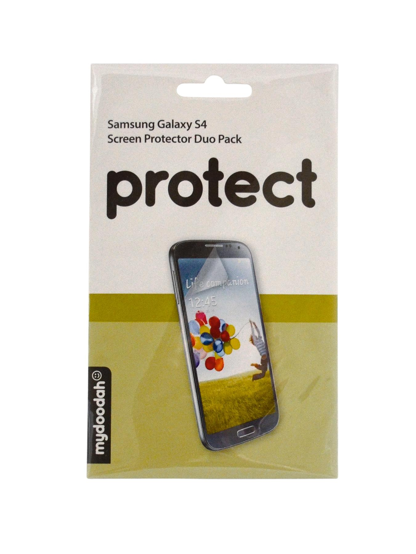 Screen Protector for Samsung S4 (2 Pack)