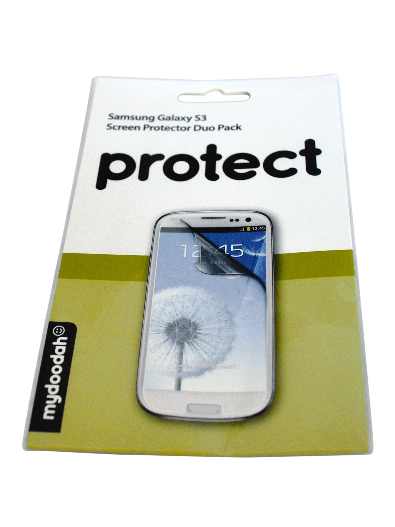 Screen Protector for Samsung S3 (2 Pack)
