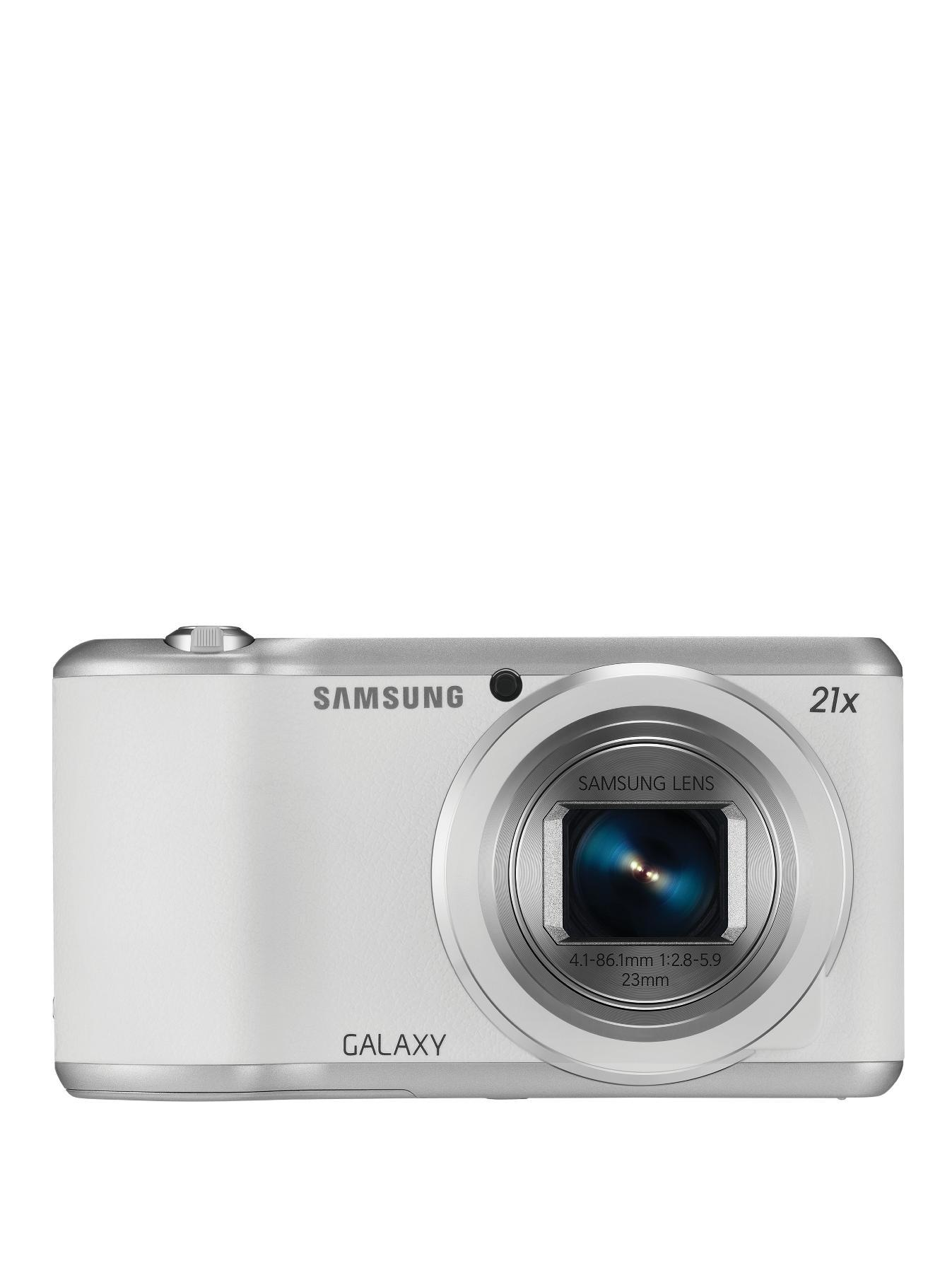 Galaxy 2 16 Megapixel Digital Camera, White,Black