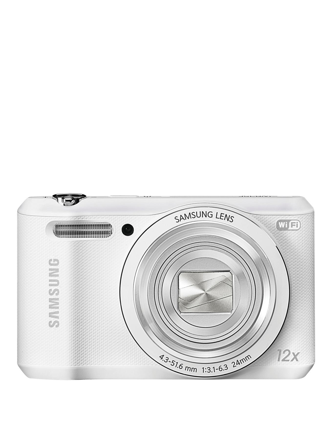 WB35F 16.2 Megapixel Digital Smart Camera, White,Black,Purple