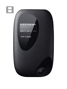 tp-link-m5350-3g-mobile-wi-fi-dongle-with-oled-screen-display--black