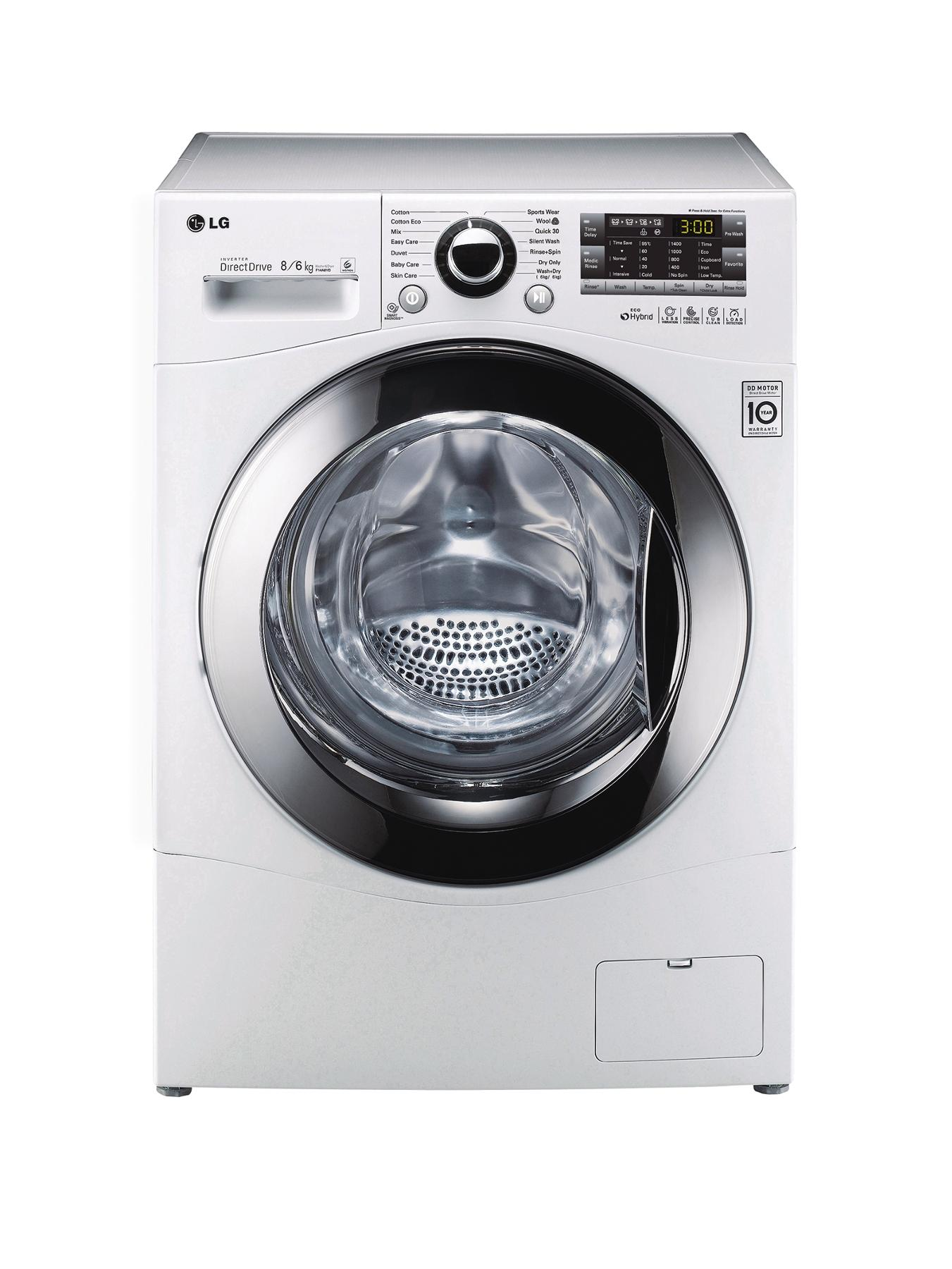 F14A8YD 1400 Spin, 8kg Wash, 6kg Dry Washer Dryer