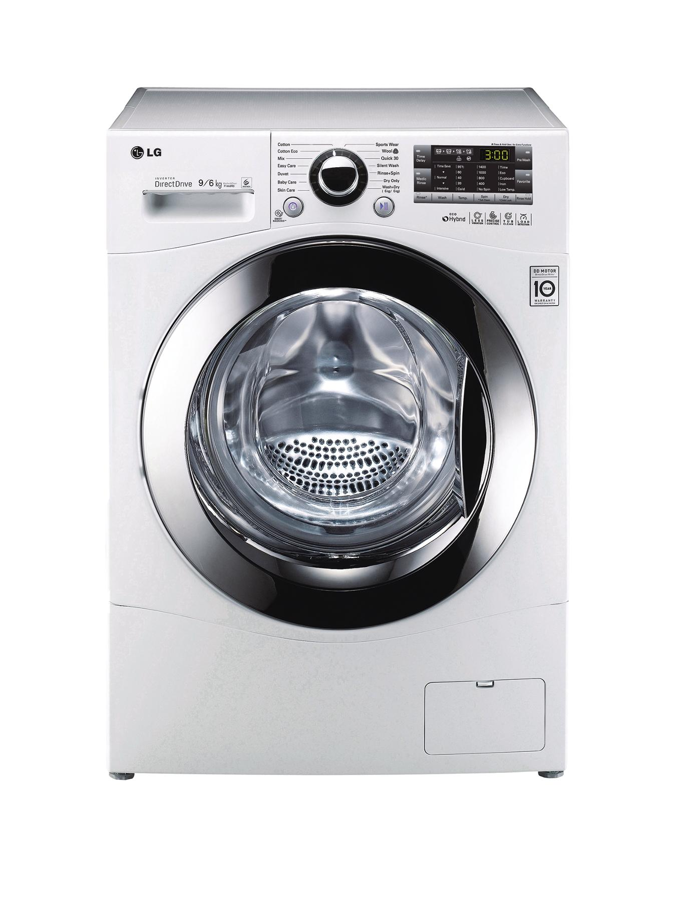 F14A8RD 1400 Spin, 9kg Wash, 6kg Dry Washer Dryer