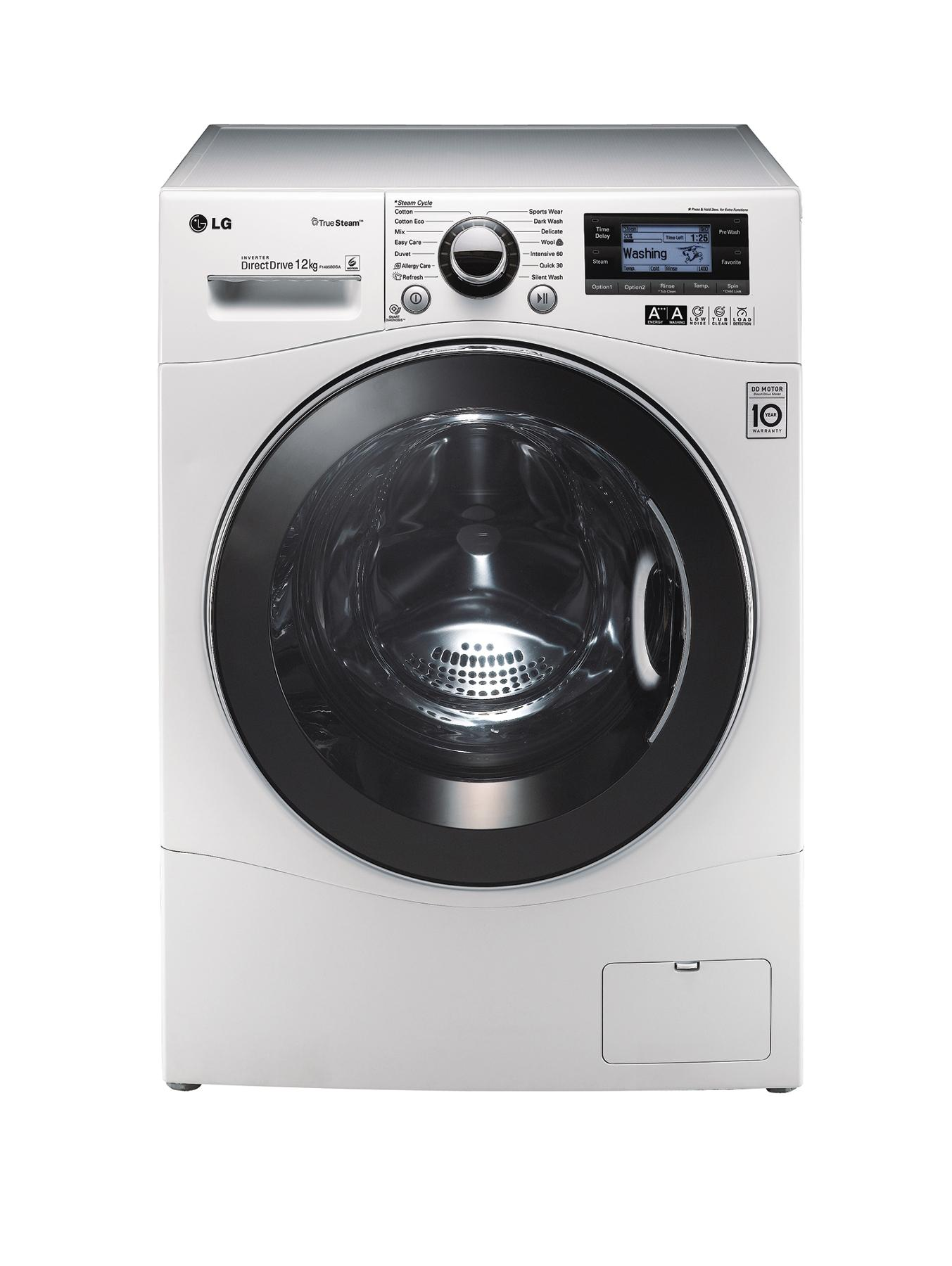 F1495BDSA 1400 Spin, 12kg Load Washing Machine - White