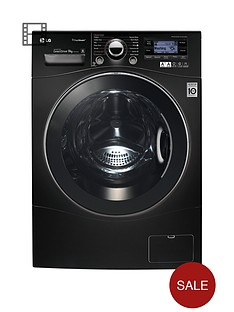 lg-f14a7fdsa6-9kg-load-1400-spin-washing-machine-black