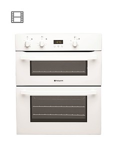 hotpoint-uh53ws-66cm-electric-built-under-double-oven-white
