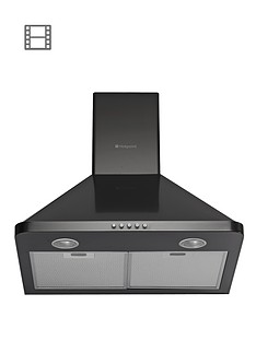 hotpoint-hhp65cmbk-60cm-chimney-built-in-cooker-hood-black