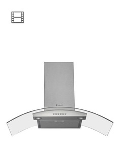 hotpoint-newstyle-hda95sab-90cm-chimney-cooker-hood-stainless-steel