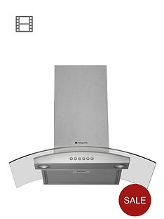 hotpoint-hda75sab-70cm-chimney-built-in-cooker-hood-stainless-steel