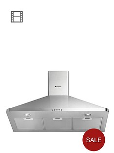 hotpoint-hhp95cm-90cm-chimney-built-in-cooker-hood-stainless-steel