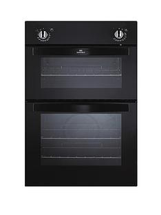 new-world-nw901do-90cm-built-in-fanned-electric-double-oven-black