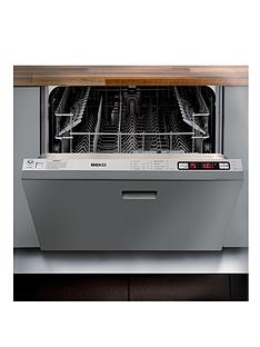beko-dw686-full-size-integrated-13-place-dishwasher-with-optional-connection-stainless-steel