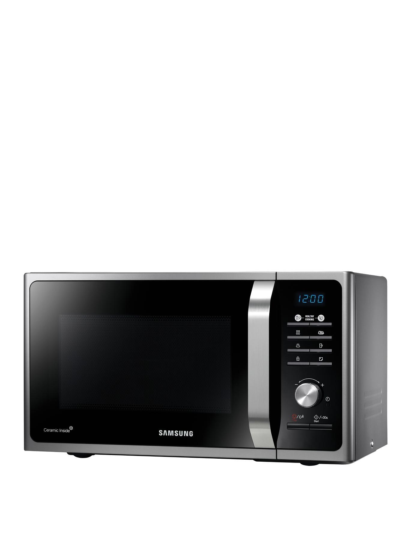 MS23F301TAS/EU 23-Litre Solo Microwave - Silver