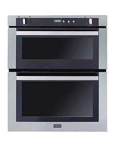 stoves-sgb700ps-70cm-built-under-gas-double-oven-stainless-steel