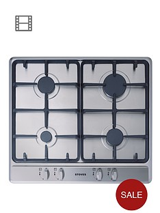 stoves-sgh600c-built-in-gas-hob-stainless-steel