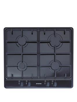 stoves-sgh600c-built-in-gas-hob-black
