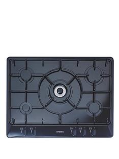 stoves-sgh700e-70cm-gas-hob-black