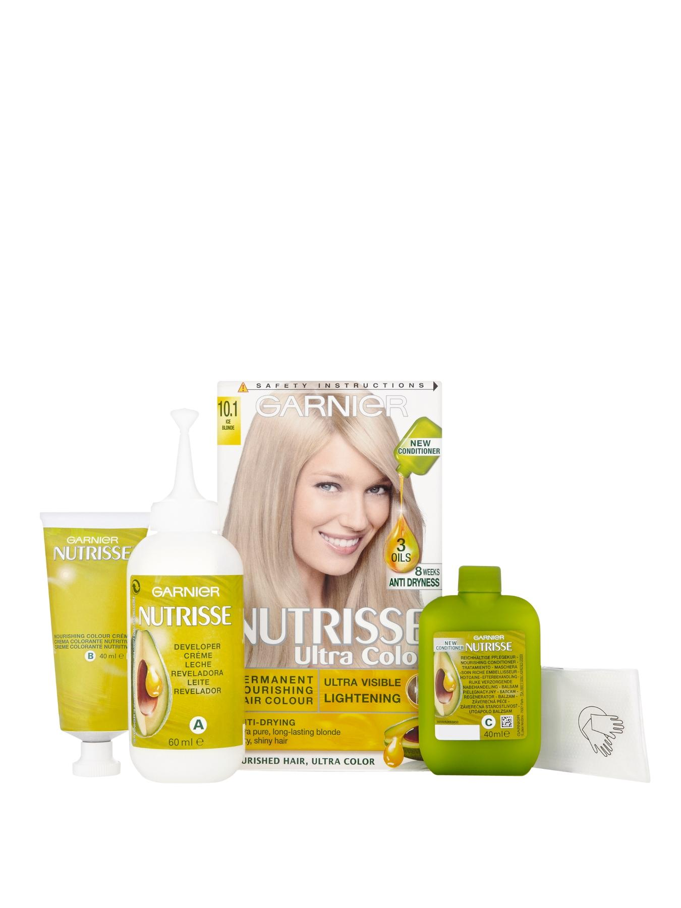 Nutrisse Permanent Hair Colour - Ice Blonde 10.1