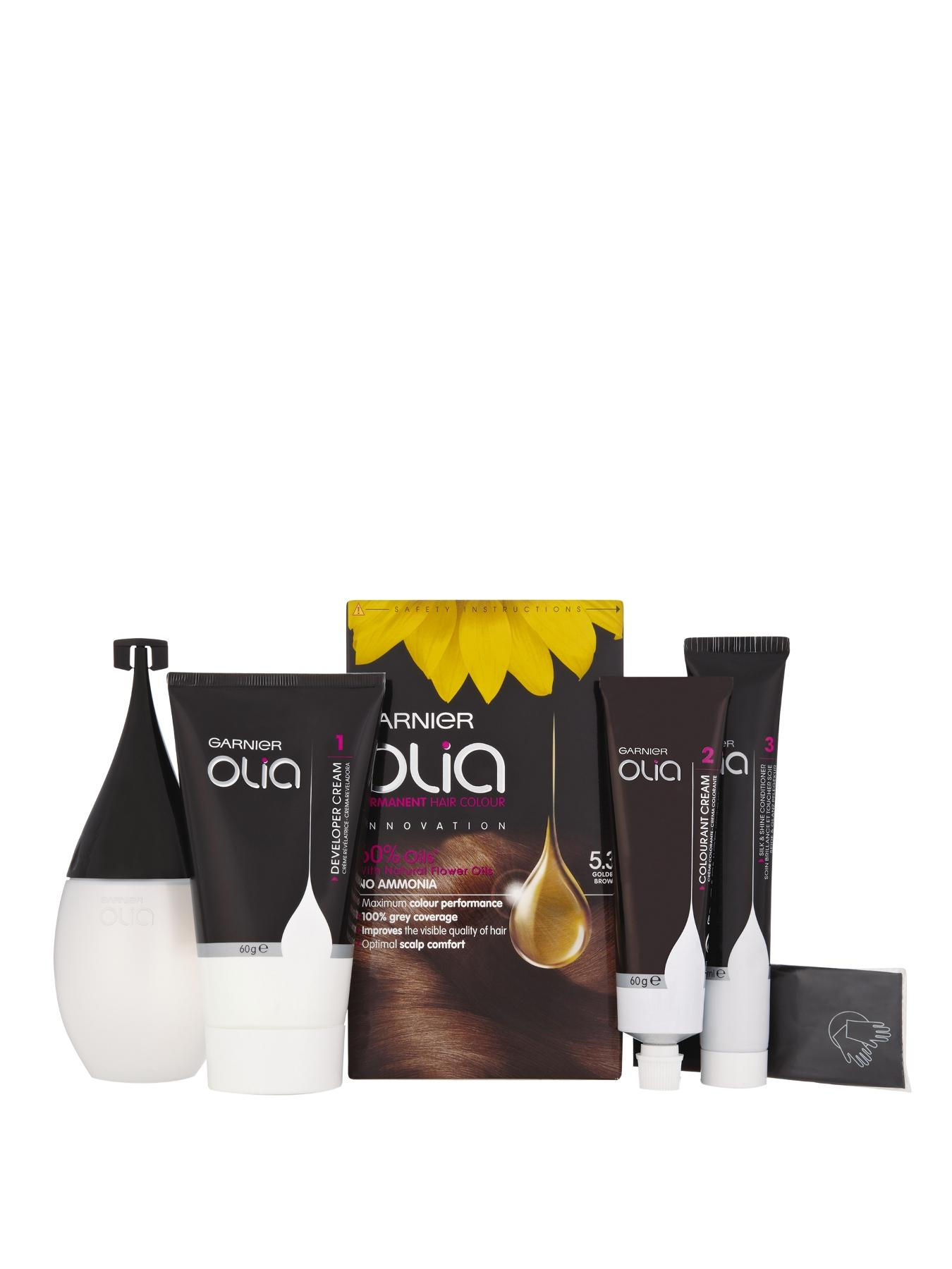 Olia Permanent Hair Colour - Golden Brown 5.3