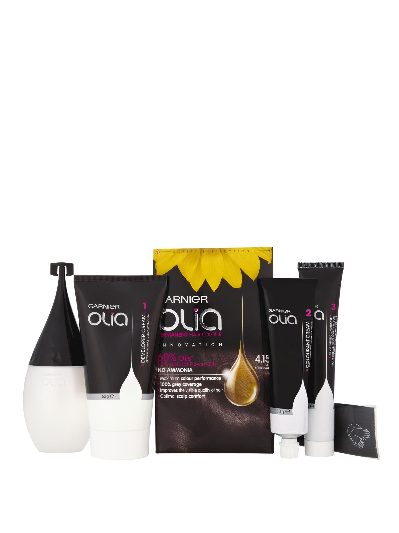 Olia Permanent Hair Colour - Iced Chocolate 4.15
