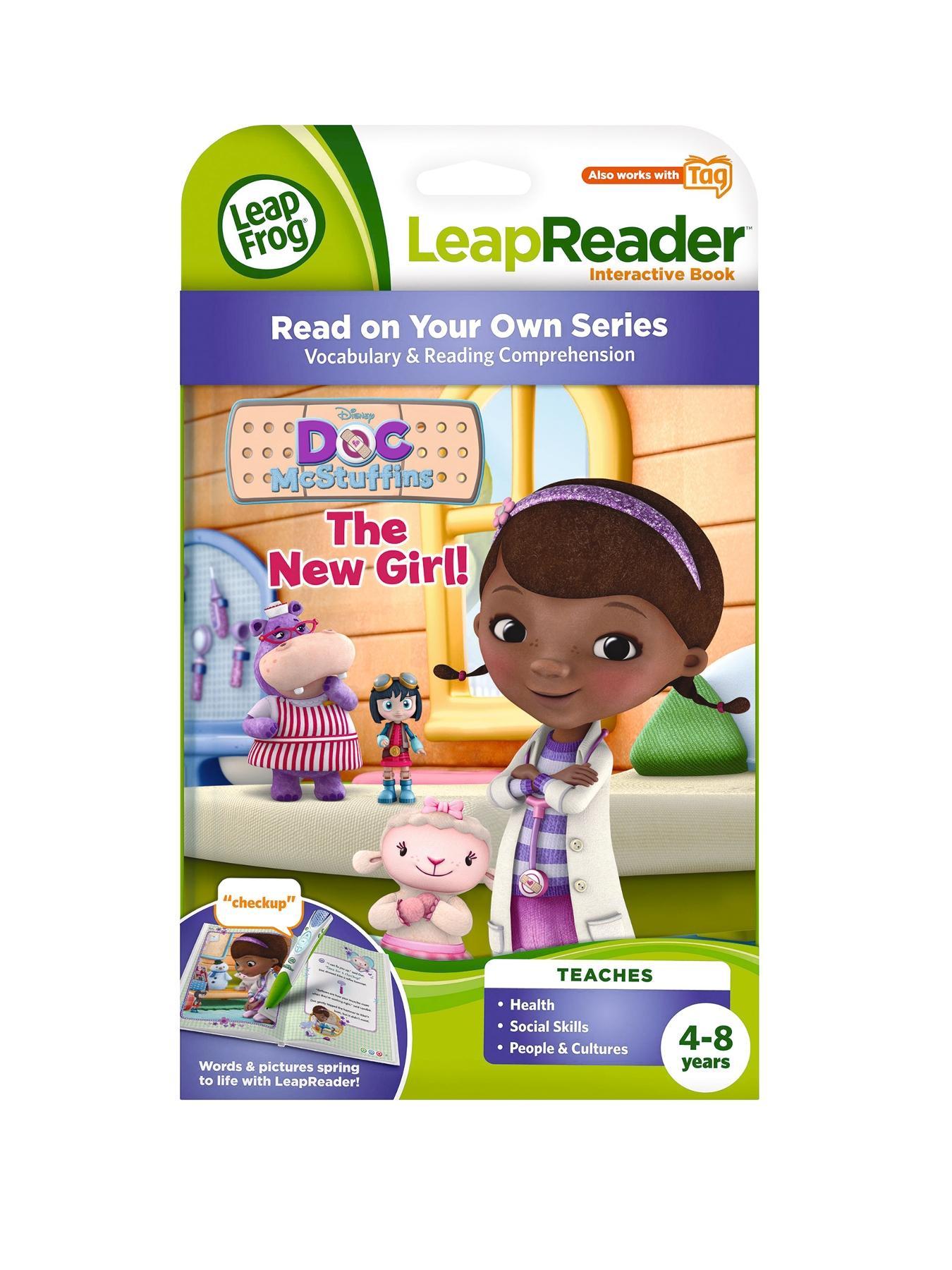 LeapReader Book Doc McStuffins