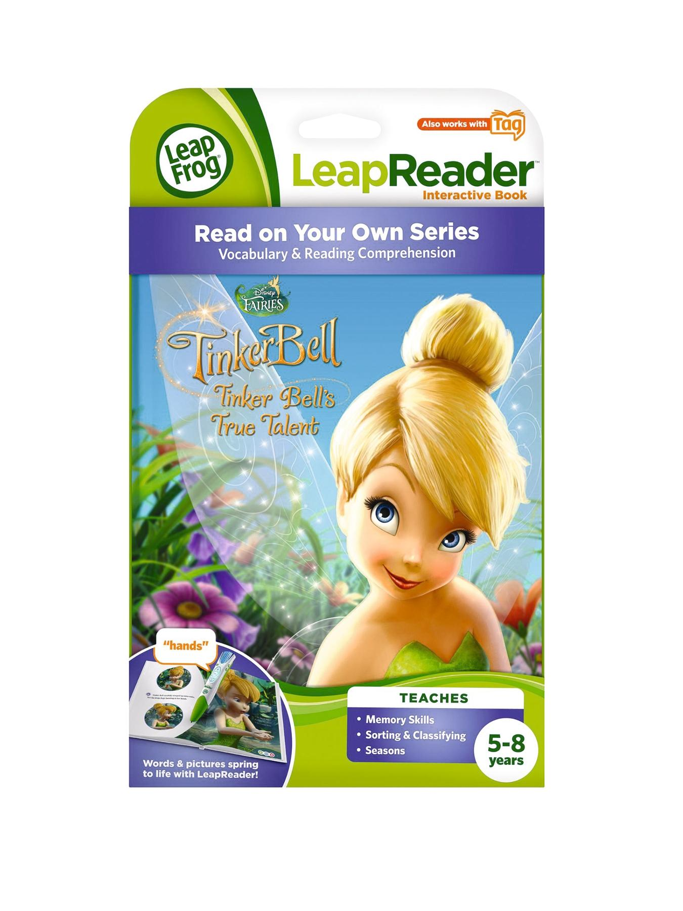 LeapReader Book Disney Fairies Tinkerbell