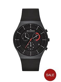 skagen-aktiv-black-silicone-chronograph-mens-watch